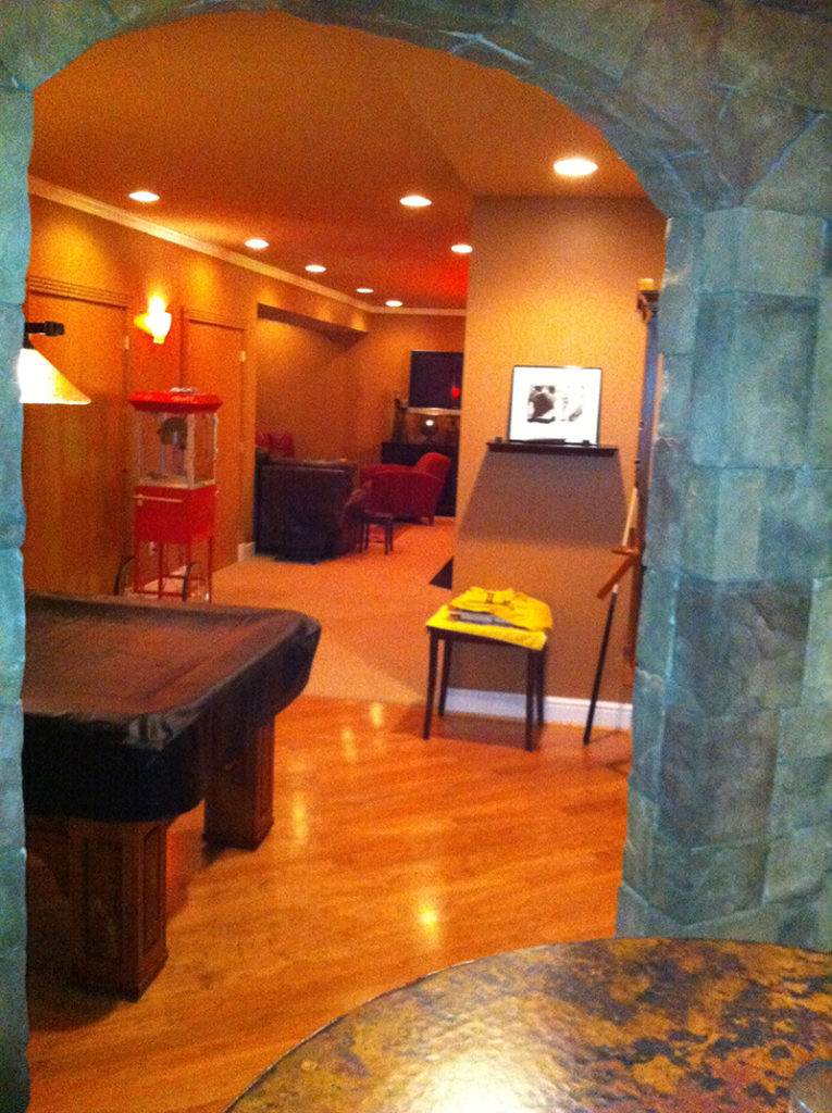 Basement Remodeling Pittsburgh basement remodel project example   office of horace trumbauer
