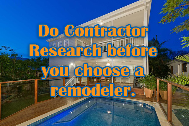 Why Doing Research On Home Remodeling Companies Is Important - Home remodeling companies